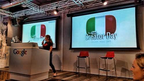YouTube Creator Day in Italia