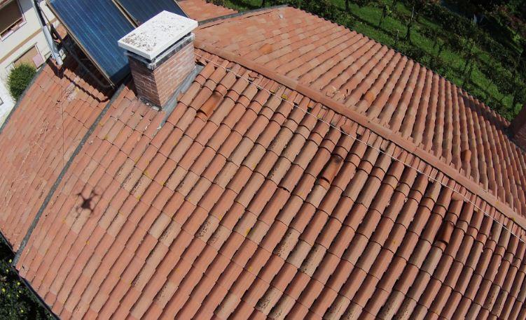 Ispezione tetti con Drone