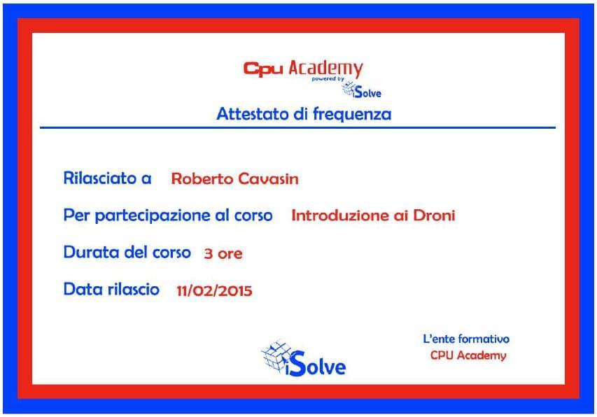 Corso Droni