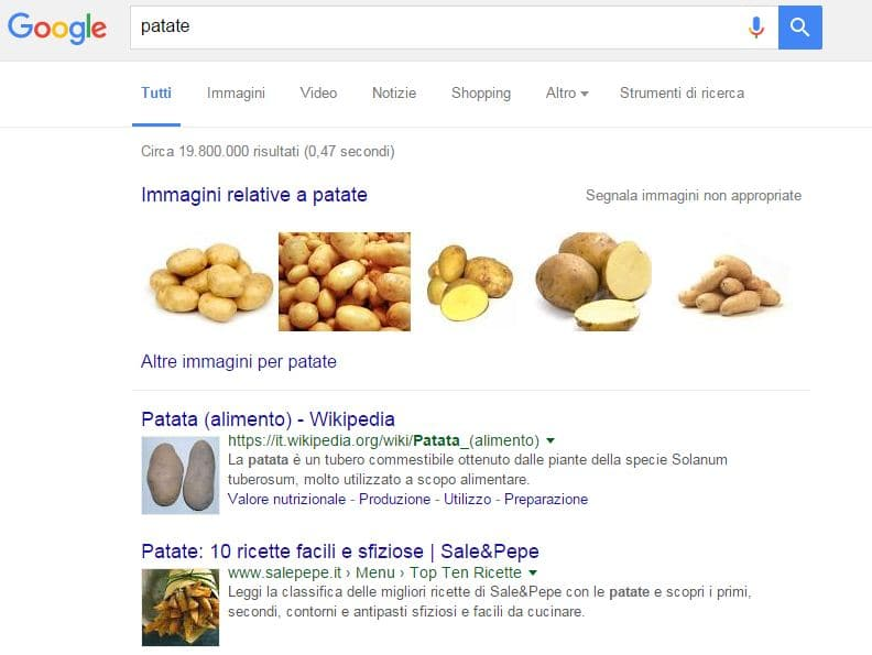 Miniature Prodotti Alimentari Google