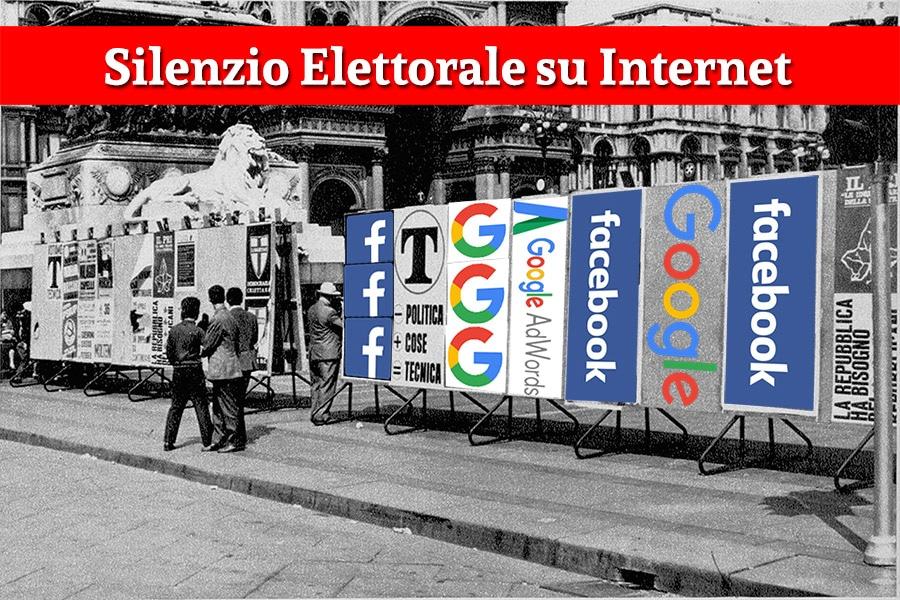 Silenzio Elettorale su Internet