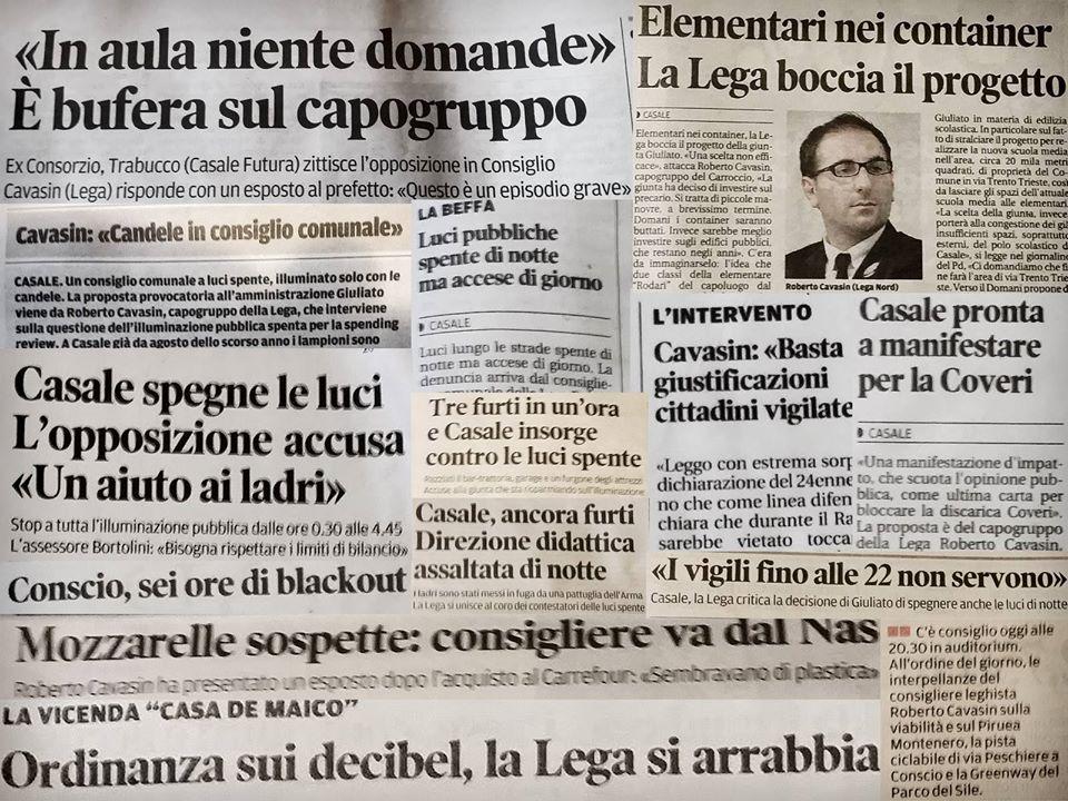 Rassegna Stampa Roberto Cavasin