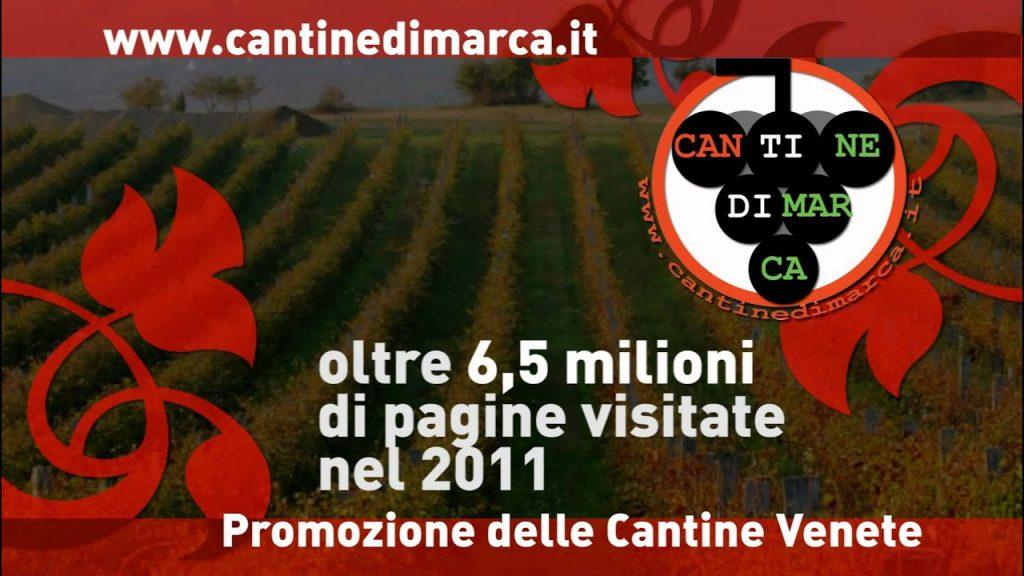 CantinediMarca.it un portale che permetteva alle cantine del Veneto di comunicare e di fare informazione sul consumatore finale