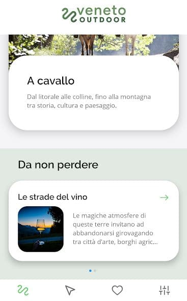 Veneto Oudoor, App turistica